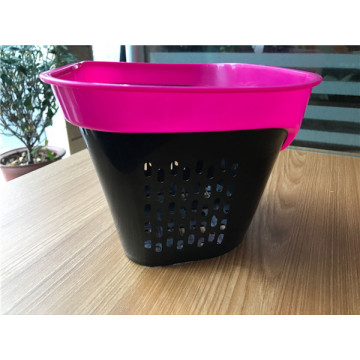 New Style and Beautiful Plastic Bicycle Basket