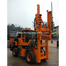 OEM/ODM for Pile Driver With Screw Air-Compressor Pile Driver for Slope Road supply to Pakistan Exporter