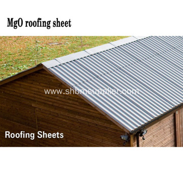 Structure Panel MgO Corrugated Sheet