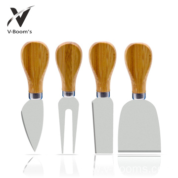 Wholesale Custom Kitchen 4PC Cheese Knife Set