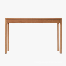 Top for Writing Tables,Wooden Writing Table,Living Room Writing Desk Manufacturers and Suppliers in China American Oak 2 drawer Wooden Writing Table supply to Uruguay Manufacturers