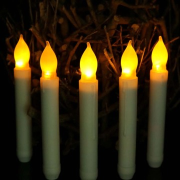 Battery Operated Stick LED Flameless Taper Decro Candles