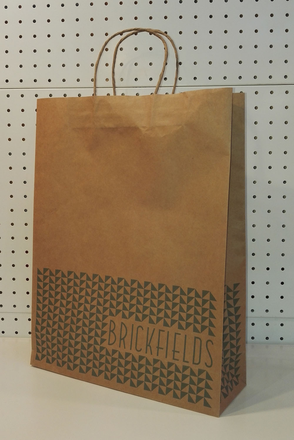 Brown Bag With Handles