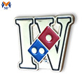 Custom letter logo shape pin badge