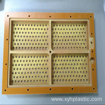Hot Selling Orange Phenolic Bakelite Part Sheet