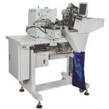 Automatic Double Needle Belt Loop Attaching Machine