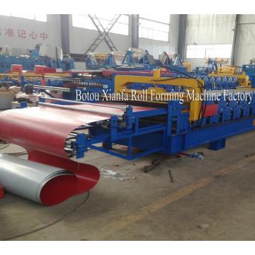 Corrugated Trapezoidal Roof Sheets Double Layer Machine