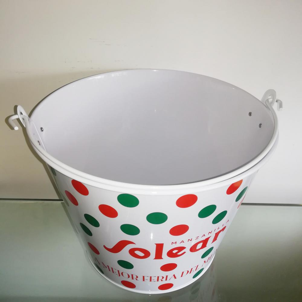 beverage metal bucket