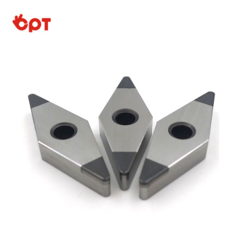 PCBN inserts high-gloss CBN tip hardened steel