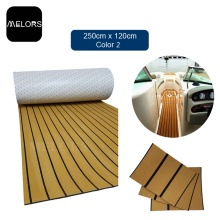 EVA Synthetic Foam Faux Teak Marine Sheet