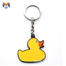 Good Quality for Enamel Keychain Gift metal name tag duck keychain words export to Poland Wholesale