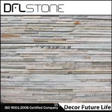 China New Product for Faux Stone Panels Water Flow Beige Natural Stacked Stone Panel supply to Japan Manufacturers