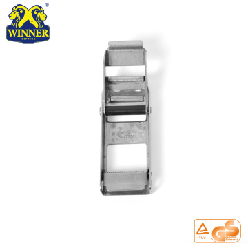 Stainless Overcenter Buckle With Plastic Tube