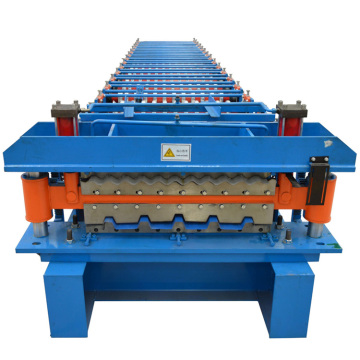 Double Layer Aluminium Cold Roof Sheet Forming Machine