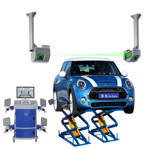 Wheel alignment system supply