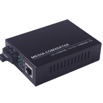 Cat5 Fiber Switch Media Converter