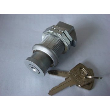ZDC Matt Chrome Industry Cabinet Door Cam Lock