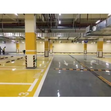 Yellow epoxy flat coating