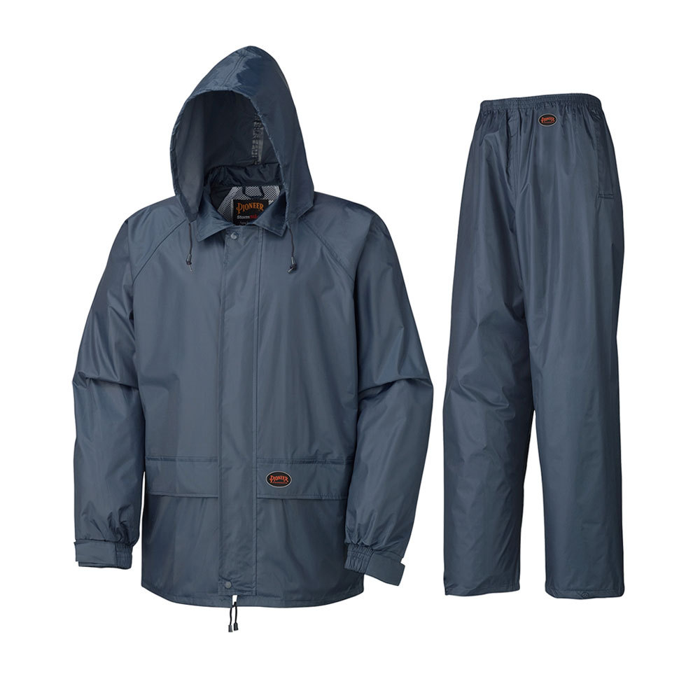 Outdoor Waterproof Polyester Rain Coats And Pants