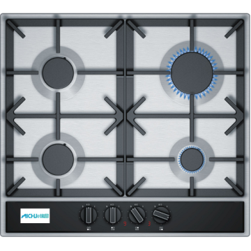 Kitchens With Integrated Appliances Gas Cooktops