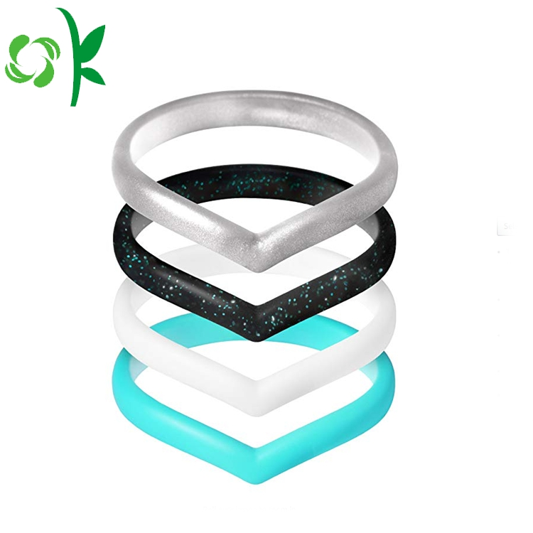 Heart Shape Silicone Ring