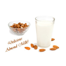 Almond flavored milk drink