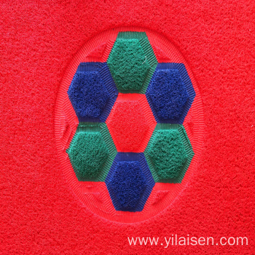 Double colors coil joint mat for outdoor