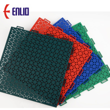 Commercial Basketball Court Floor Interlocking Court Tiles
