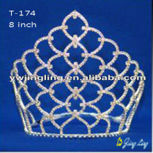 Simple cheap rhinestone crowns