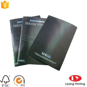 Colorful products brochures catalog printing