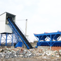 60m3 stationary ready-mixed concrete batching plant
