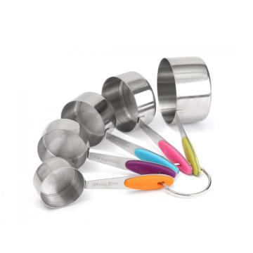 Customized for Measuring Scoop Stainless Steel Measuring Cups supply to China Macau Factories