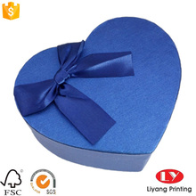 Heart shape jewelry gift paper packaging