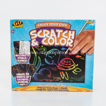 Create Your Own Scratch Color Art