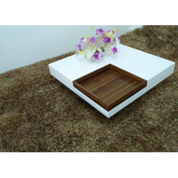 Fashion design square coffee table