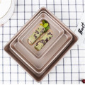 3pcs Customized Rectangle non stick baking sheet sets