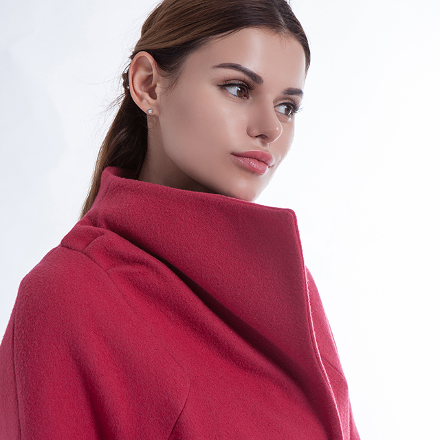 Cashmere Overcoat Rose