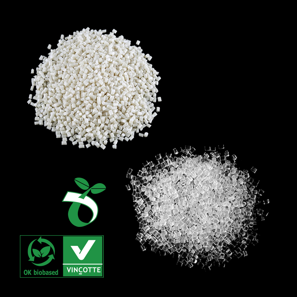 Food Grade Recycle Plastic Transparent Polyester Resin