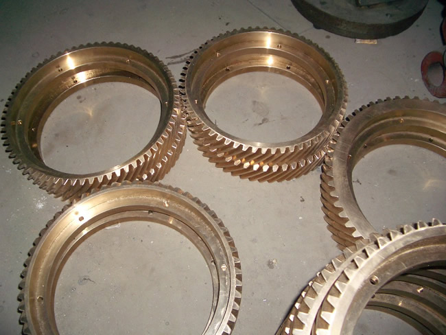 Copper Bronze gear