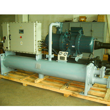 100ton skru Mesin Chiller Air Cooled Water