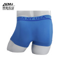 Custom Logo Seamless Sexy Mens Underwear Boxer Shorts