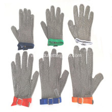 ODM for China Five Finger Ring Mesh Glove,Cut Resistant Metal Mesh Glove,Mesh Safety Glove,Metal Ring Mesh Glove Manufacturer and Supplier Welded steel ring mesh butcher gloves export to Belgium Manufacturer