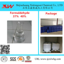 High quality factory for Industrial Grade Formaldehyde Formaldehyde // Formalin Solution 37% 40% export to United States Suppliers
