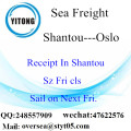 Shantou Port LCL Consolidation To Oslo