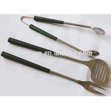 3 Piece Stainless Steel Barbecue Grilling Utensils