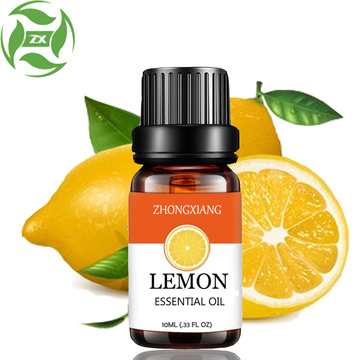Organic therapeutic grade lemon oil for medicine