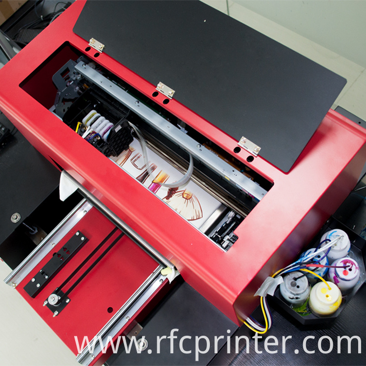 Cmykw T-Shirt Printing Machine