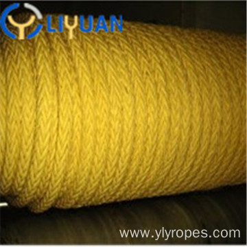 High quality 12 strand UHMWPE mooring rope