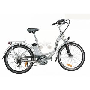 26 Inch Alloy Electric Beach Cruiser Bike With Lithium Battery