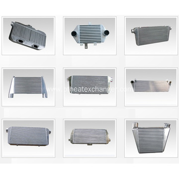 Automobile Front Mounted Aluminium  Intercoolers